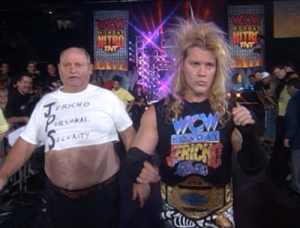 Chris Jericho with Ralphus