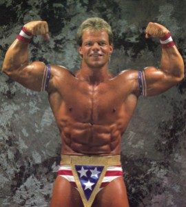 The new American hero, Lex Luger.