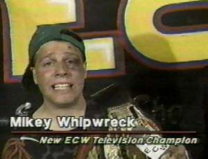 One of the best underdog stories in wrestling, Mikey Whipwreck.