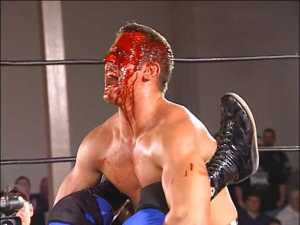 A bloody Roderick Strong attempted to win the ROH World Championship, but came up short.