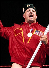 Nikolai Volkoff embraced the USA and fans got behind him.