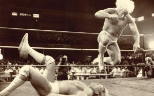 Fans enjoyed the Flair vs. Luger feud in 1990.