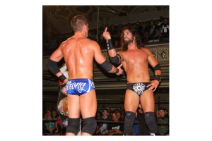 Tyler not showing respect towards ROH and the fans as he departs.