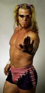 Former WCW Cruiserweight Champion, Lenny Lane. Remember him?