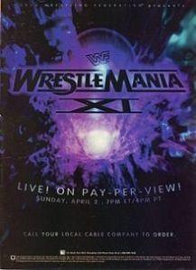 WrestleManiaXI