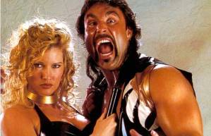 Marc Mero with Sable.