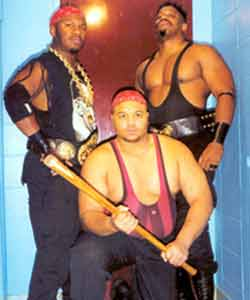 New Jack, Mustafa & D'Lo Brown... the Gangstas