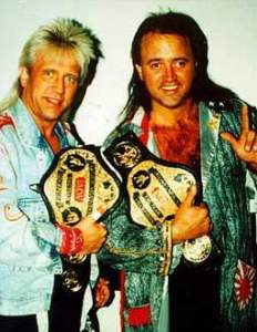 Ricky Morton and Robert Gibson, the men the Gangstas wanted to eliminate.