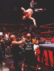 One fan was concerned for Terry Funk doing a moonsault, but Terry is just insane.