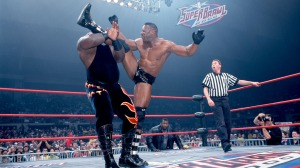 Big T in action against Booker T in 2000.
